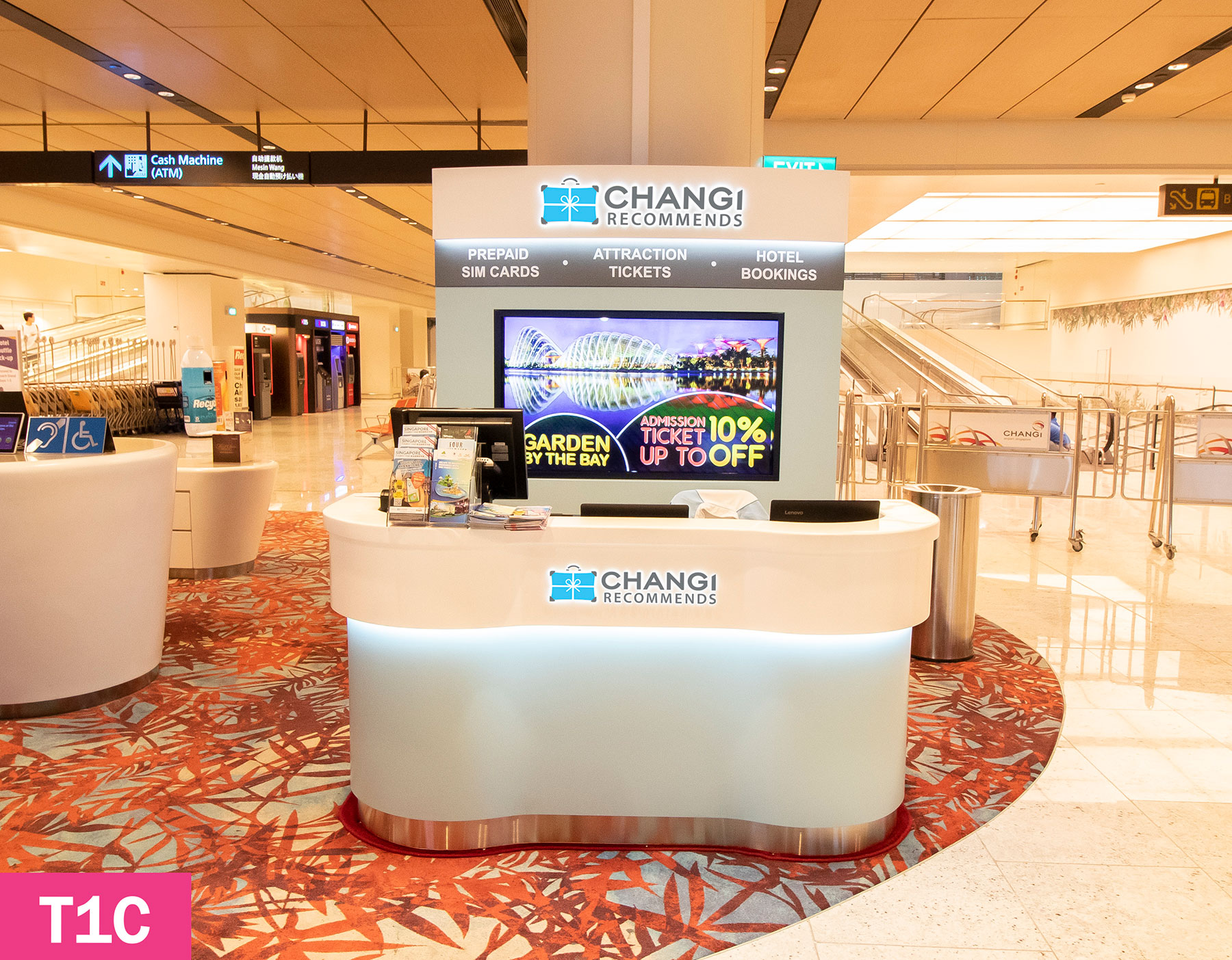 CHANGI RECOMMENDS COUNTER