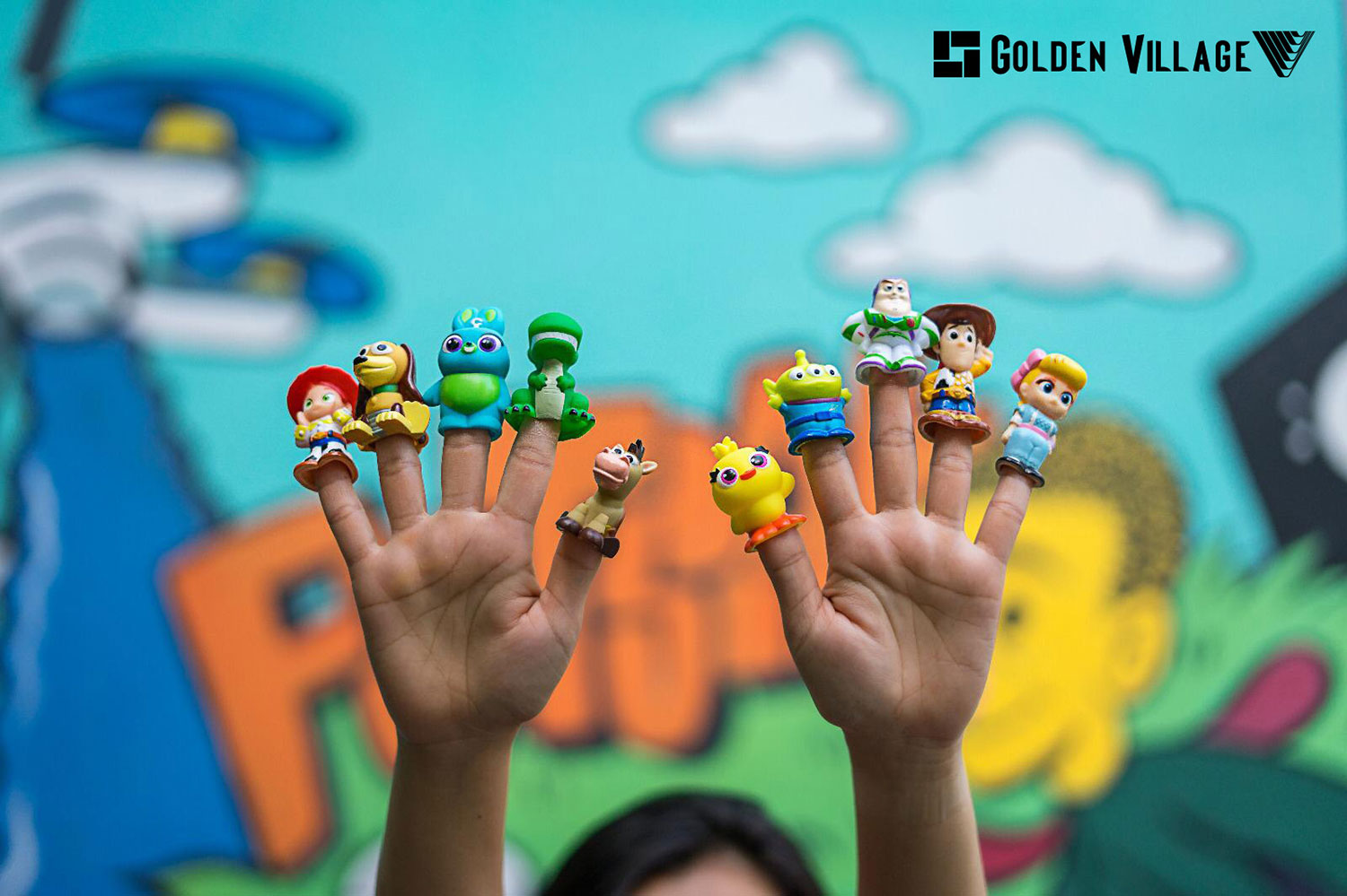 Collect these finger puppet collectibles with Golden Village's Toy Story 4 Exclusive Combo!