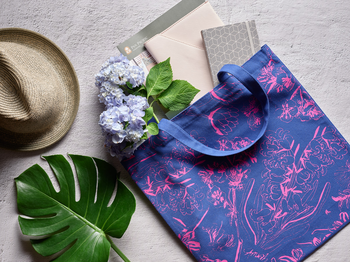 Limited Edition Tote Bag featuring 'Botanical'