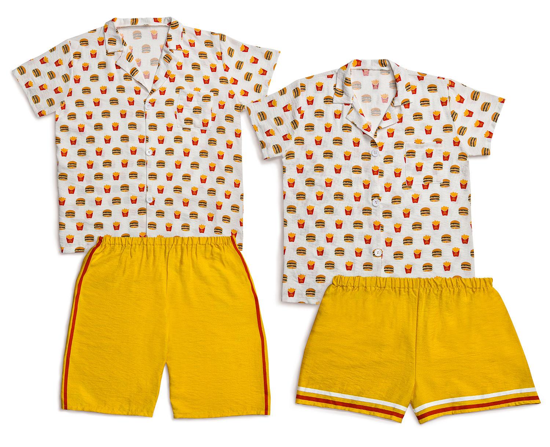 Loungewear-Set,-Men's-Women'sTop