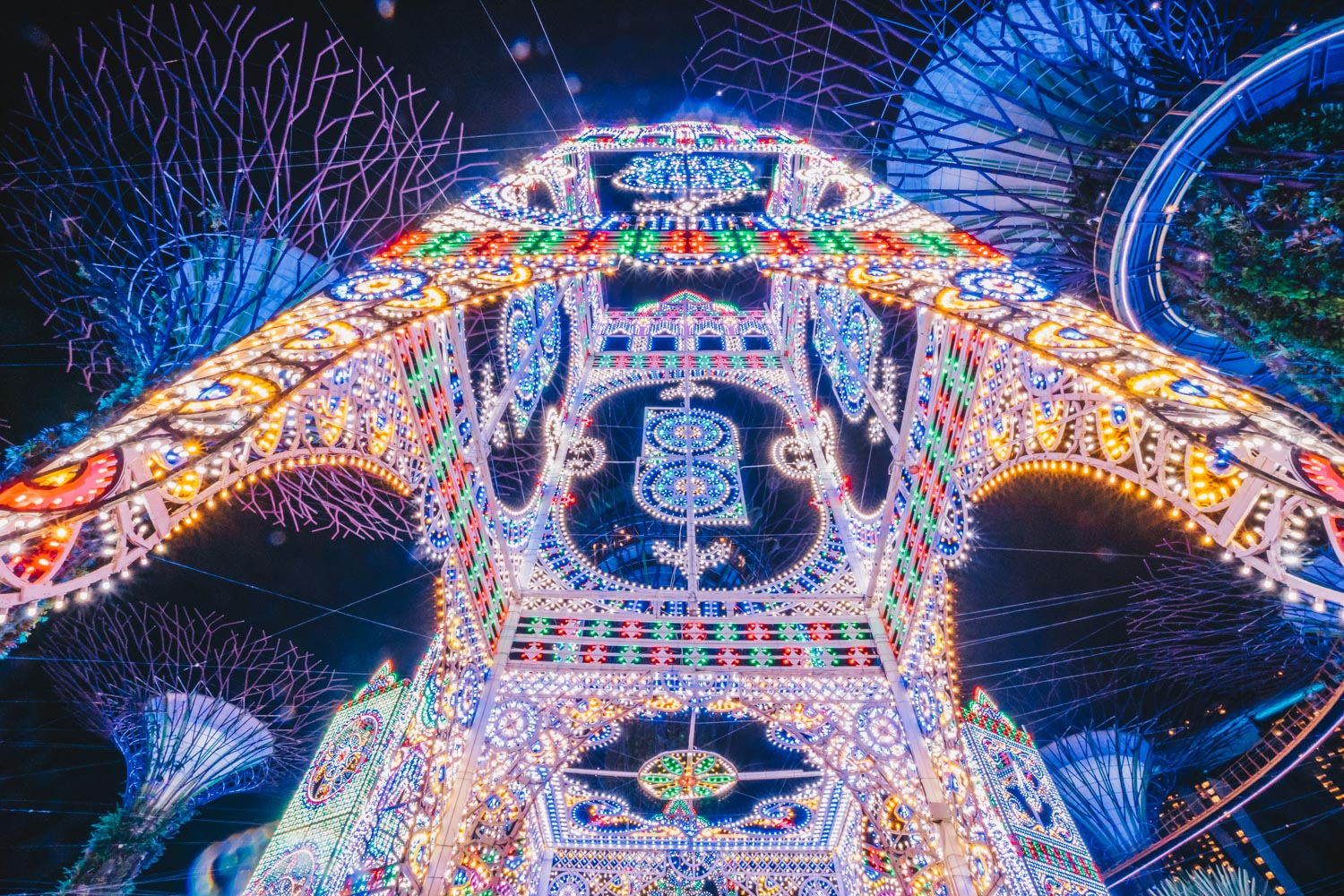 Luminarie Light Sculptures