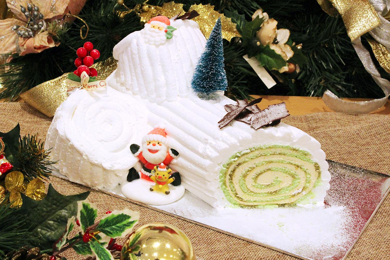 Gula-Melaka-Pandan-Log-cake