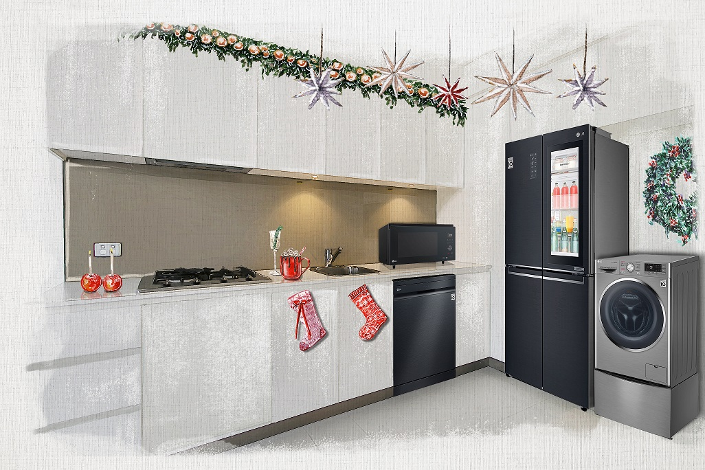 LG Digital Christmas Gift Guide Kitchen