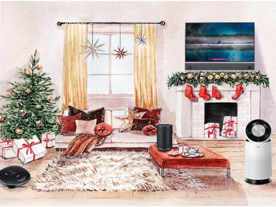 LG Digital Christmas Gift Guide Living Room