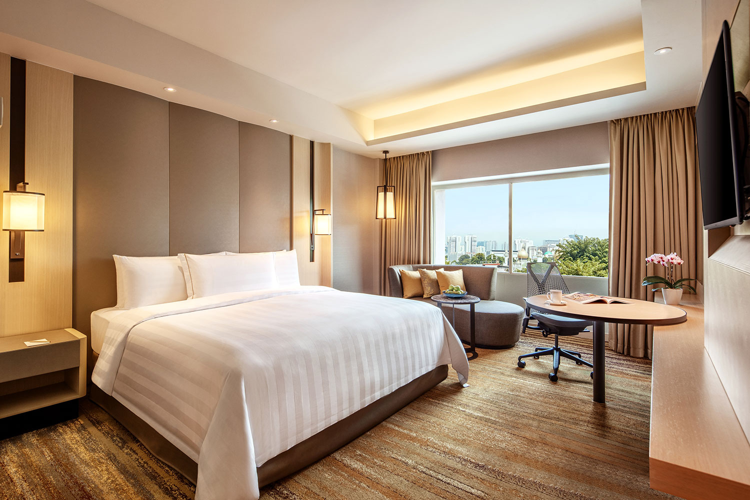 PARKROYAL-on-Beach-Road---Deluxe-King-Room