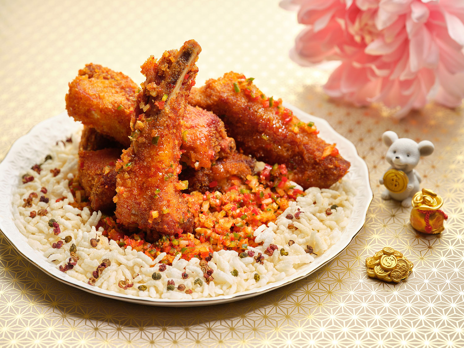 Si-Chuan-Dou-Hua-at-PARKROYAL-on-Beach-Road---Deep-fried-Spare-Ribs-in-Sichuan-Spices