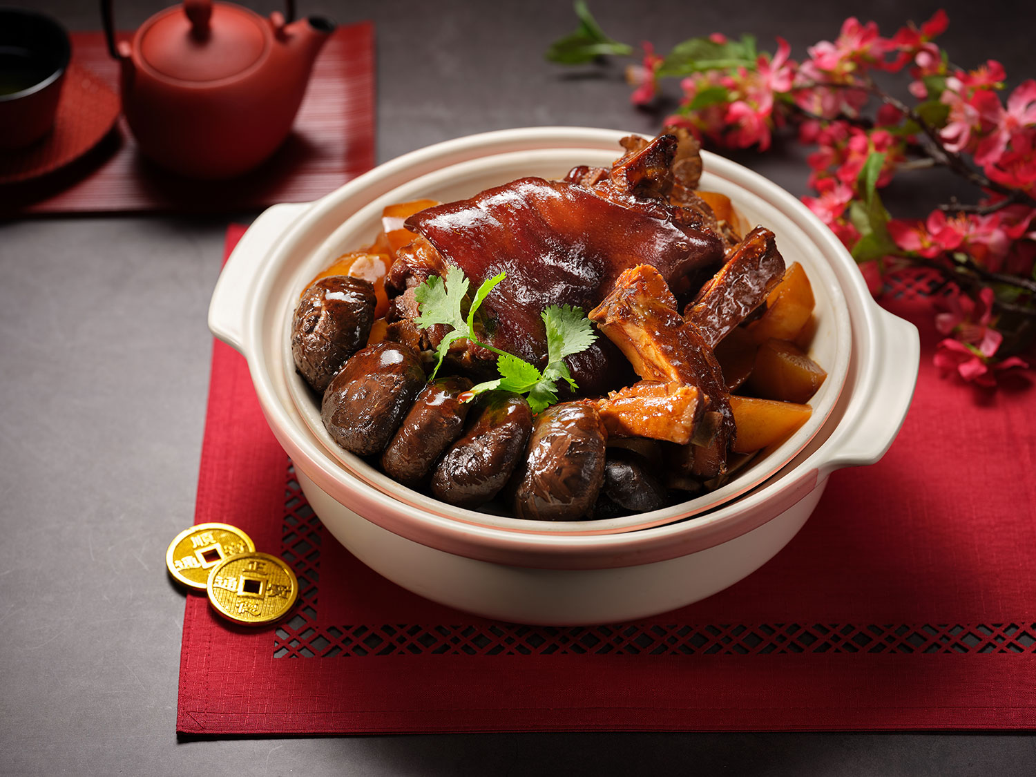 Stewed-Pork-Spare-Ribs-and-Knuckle-Fortune-Pot