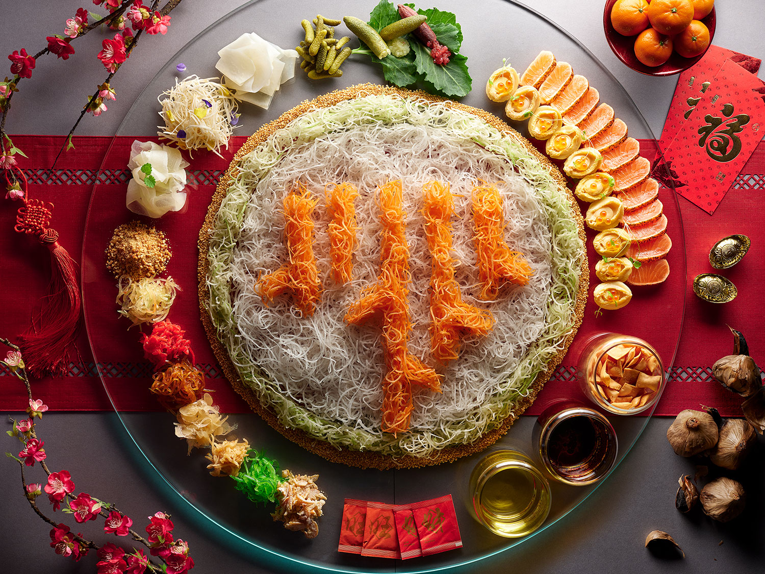 Traditional Yu Sheng