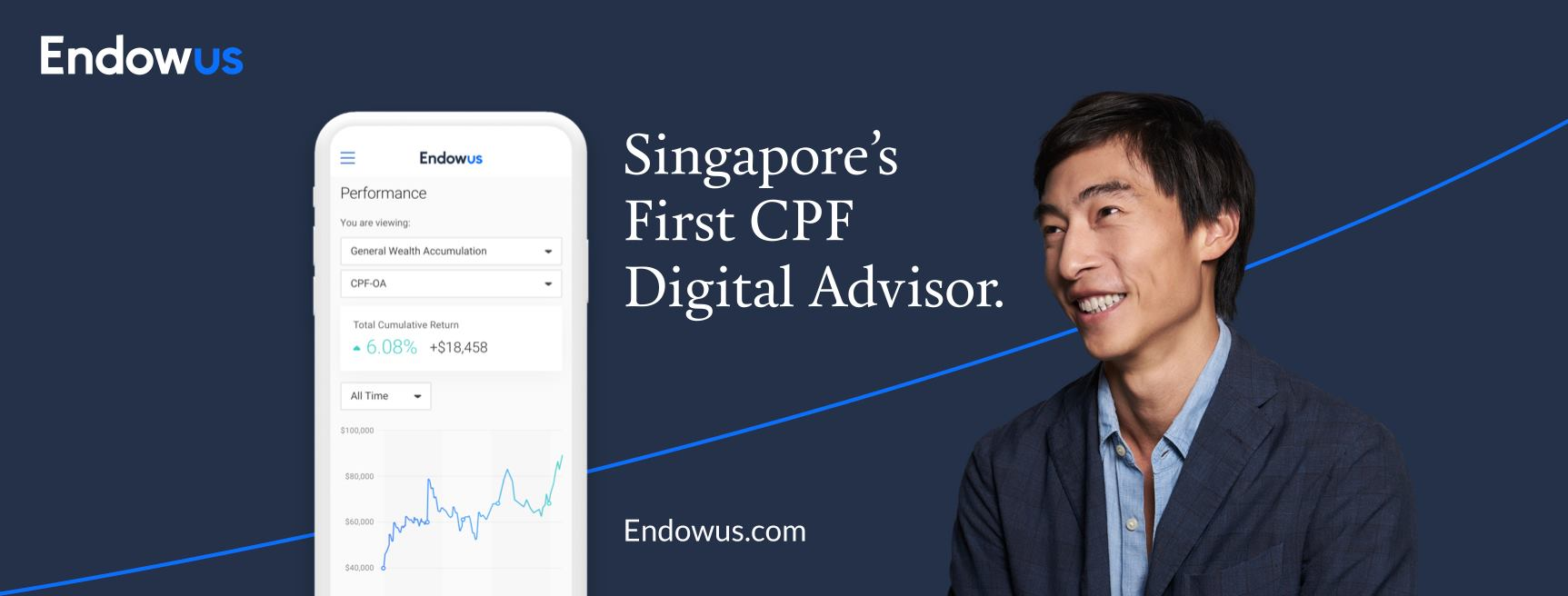 ENDOWUS SINGAPORE'S FIRST CPF DIGITAL ADVISOR