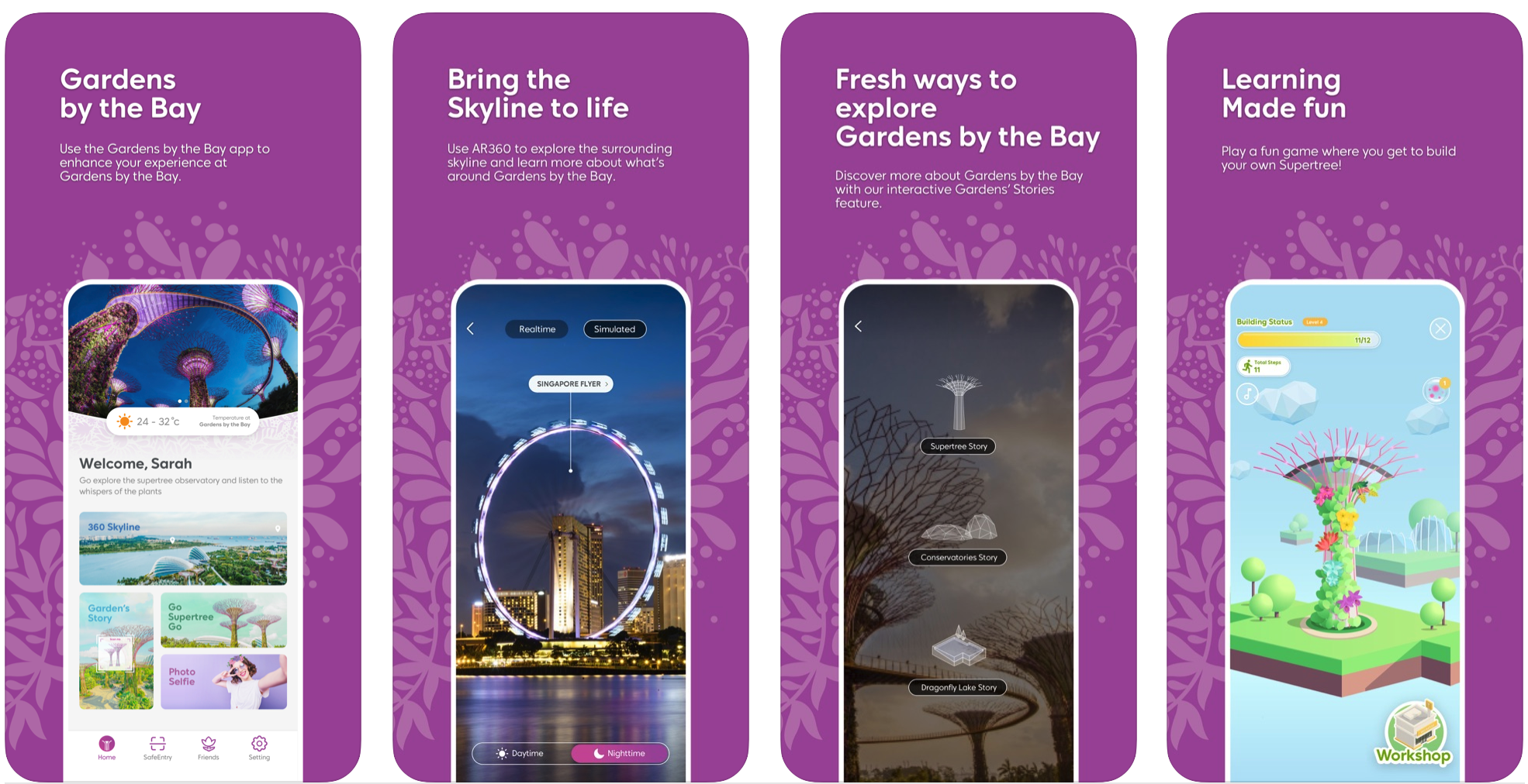 Gardens by the Bay mobile app