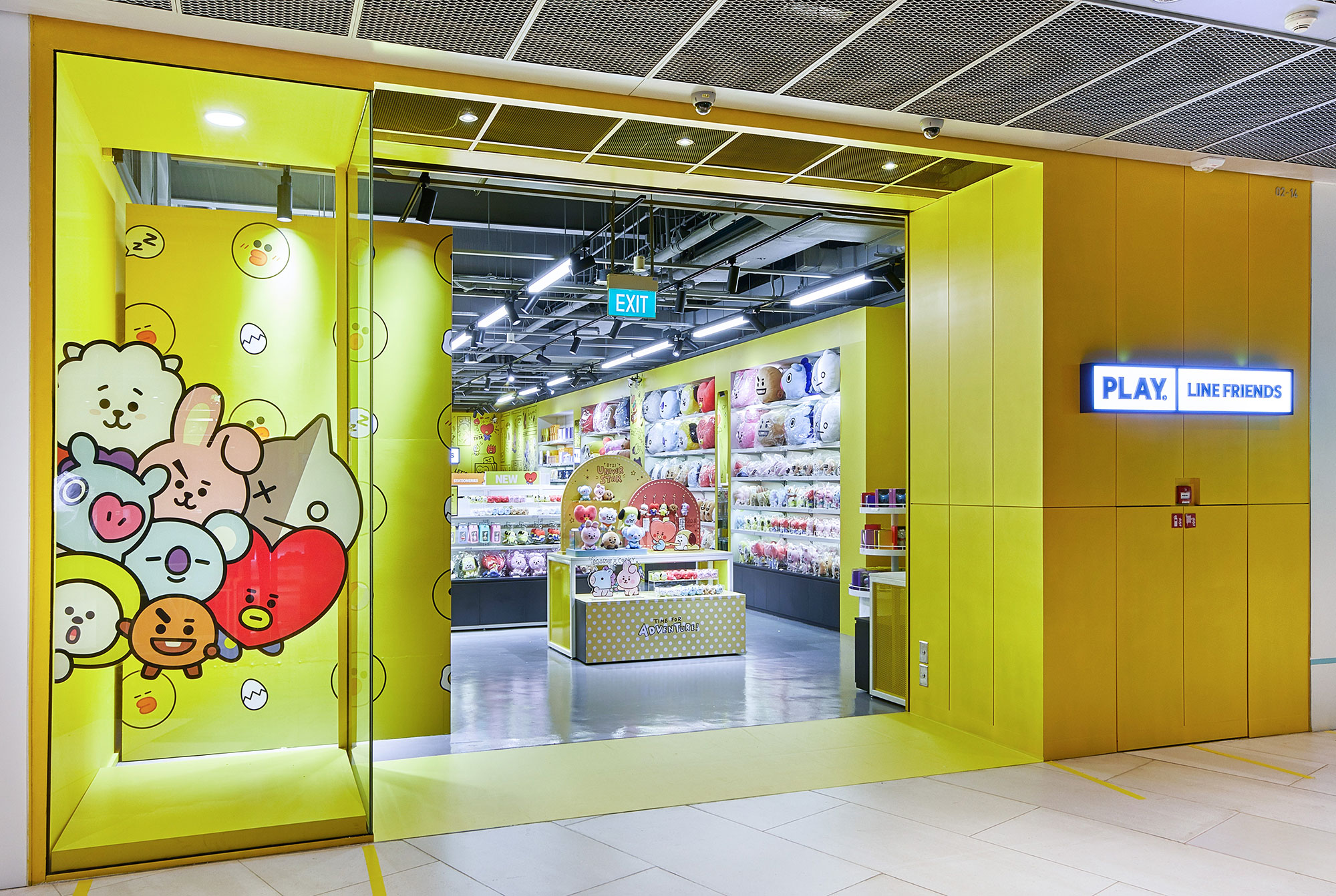PHOTO - PLAY LINE FRIENDS FLAGSHIP STORE AT FUNAN, SINGAPORE